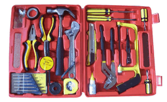 13 PC HOME OWNER TOOL SET