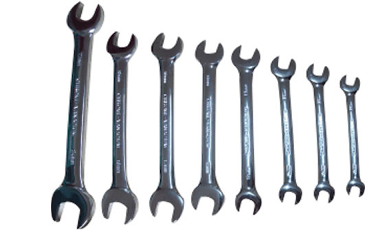 (8PC) COMBINATION SPANNERS