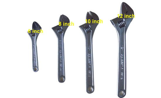 ADJUSTABLE SPANNER WRENCH